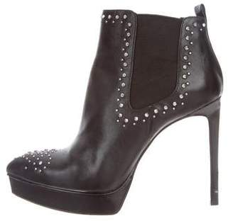 MICHAEL Michael Kors Studded Platform Ankle Boots