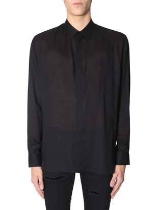 Saint Laurent Shirt With Yves Collar