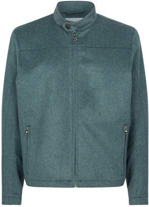 Johnstons of Elgin Cashmere Bomber Jacket