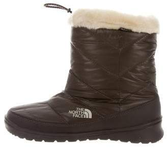 The North Face Quilted Snow Boots