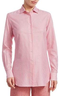 Loro Piana Camicie Button-Front Shirt