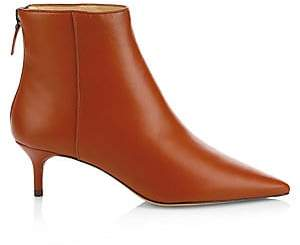 5ef20616623 Alexandre Birman Women s Point Toe Kitten Heel Booties