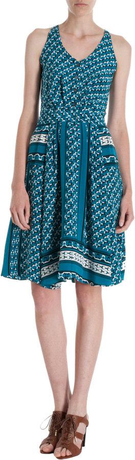 Derek Lam 10 Crosby Printed Dress