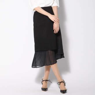 Vicky (ビッキー) - VICKY リネンライク異素材スカート