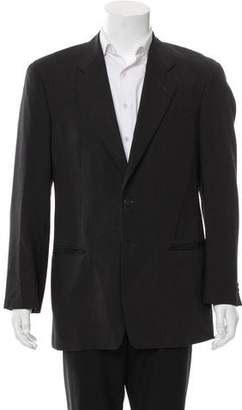 Giorgio Armani Wool Two-Button Blazer