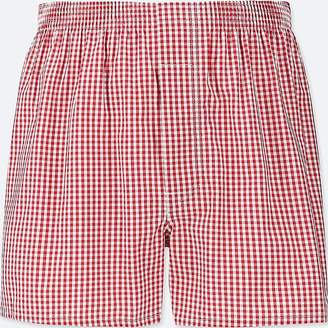 Uniqlo Men's Woven Checked Boxers