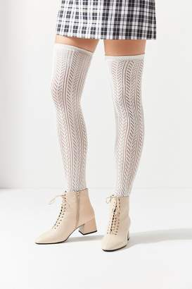 Urban Outfitters Pointelle Thigh High Sock