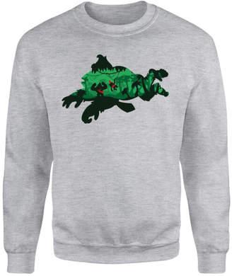 Nintendo Donkey Kong Silhouette Sweatshirt - Grey