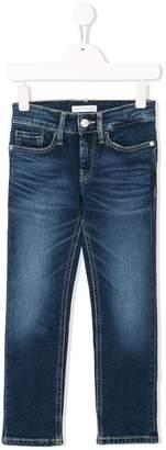 Calvin Klein Kids faded jeans