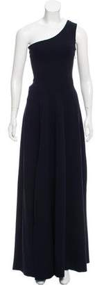 Derek Lam One-Shoulder Evening Dress