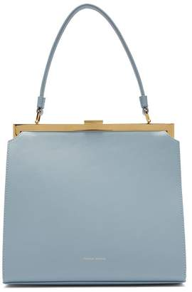 Mansur Gavriel Elegant Leather Bag - Womens - Light Grey