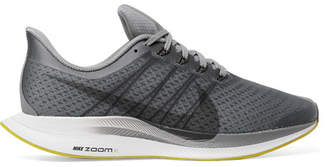Nike Running Pegasus 35 Turbo Mesh Sneakers - Gray