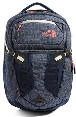 The North Face 'Recon' Backpack - Blue $99 thestylecure.com