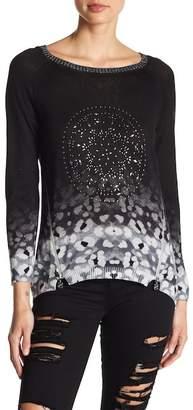 Desigual Embellished Knit Pullover