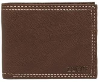 Levi's Traveler Zipper Wallet