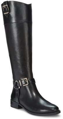 INC International Concepts Women's Fedee Tall Boots, Only at Macy's $179.50 thestylecure.com