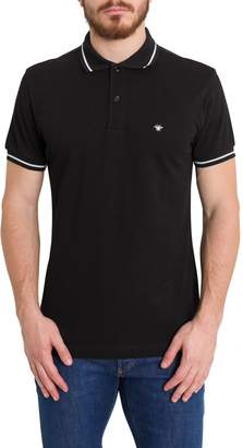 Christian Dior Bee Embroidered Polo Shirt