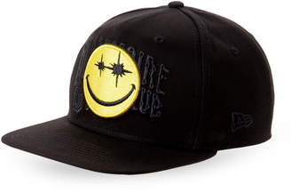 Billionaire Boys Club Black BB Smiles Snapback