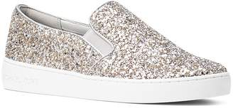 MICHAEL Michael Kors Women's Keaton Glitter Slip-On Sneakers