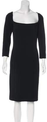 Ralph Lauren Long Sleeve Knee-Length Dress