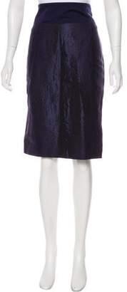Salvatore Ferragamo Silk-Blend Skirt