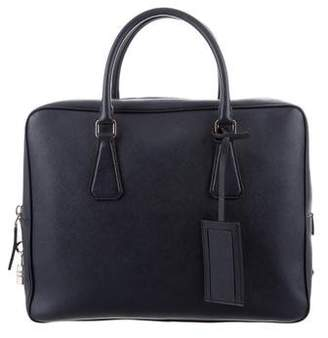 Prada Saffiano Travel Briefcase
