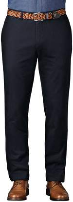 Charles Tyrwhitt Navy Extra Slim Fit Flat Front Cotton Chino Pants Size W30 L34