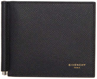 Givenchy Black Eros Clip Wallet