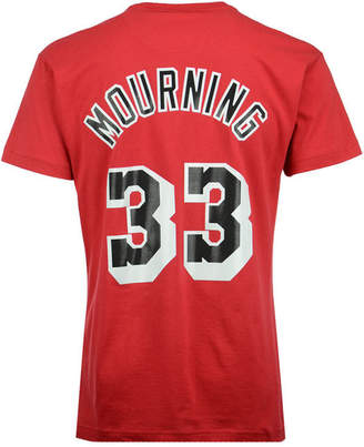 Mitchell & Ness Men Alonzo Mourning Miami Heat Hardwood Classic Player T-Shirt