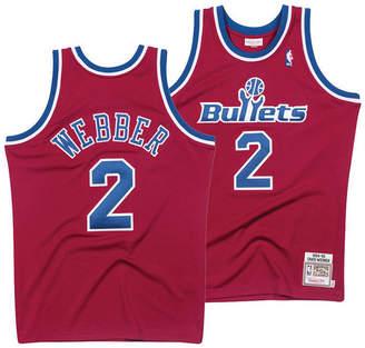 Mitchell & Ness Men Chris Webber Washington Bullets Authentic Jersey