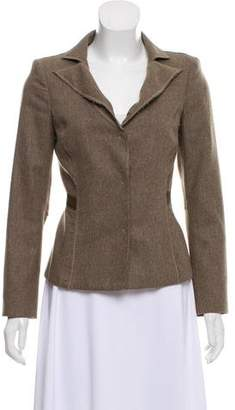 Philosophy di Alberta Ferretti Deconstructed Wool Blazer
