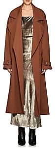 Nomia Women's Crepe Oversized Trench Coat - Lt. brown