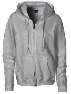 Gildan Heavy Blend Ladies Full Zip Hood Sweat / Sweatshirt Hoodie (L)
