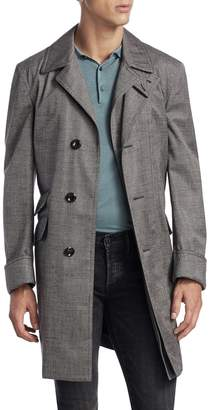 Tom Ford Men's Solid Trench Coat