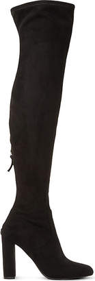 Steve Madden Ladies Black Elegant Emotions Sm Over-The-Knee Boots