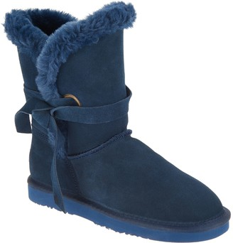 Lamo Water & Stain Resistant Suede Tassel Mid Boots - Medora