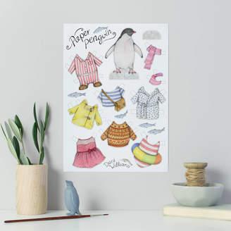 Original Penguin Dani Williams Art & Illustration Paper Doll
