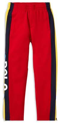 Ralph Lauren Boys' Polo Hi Tech Striped Double-Knit Pants - Big Kid