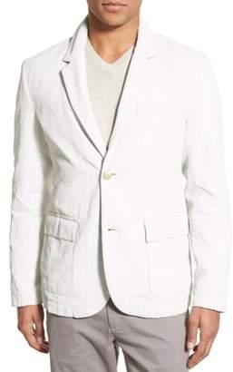 James Perse Linen Blend Unconstructed Sport Coat