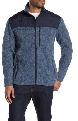 Free Country Knit Fleece Sweater