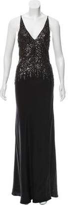 Narciso Rodriguez Embellished Silk Evening Dress w/ Tags