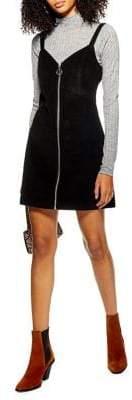 Topshop Corduroy Zip Dress