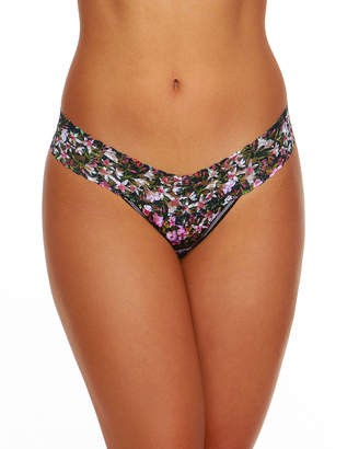 Hanky Panky Thumbelina Low-Rise Signature Lace Thong