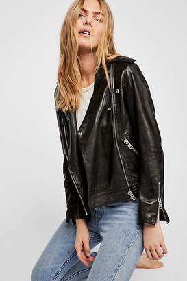Zadig & Voltaire Loon Moto Leather Jacket