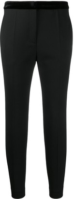 Sandro Paris fitted cropped trousers