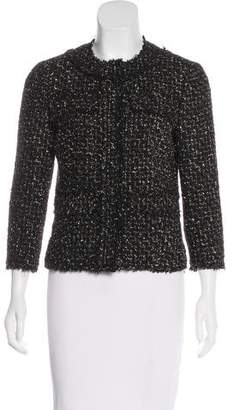 Michael Kors Wool-Blend Tweed Jacket