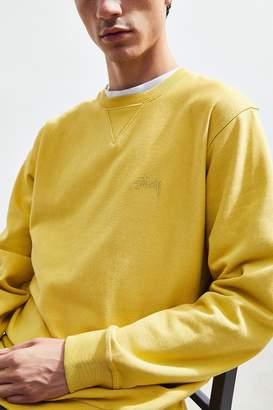 Stussy Terry Crew-Neck Sweatshirt