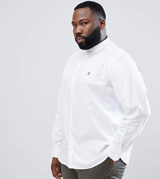 French Connection PLUS Long Sleeve Oxford Shirt