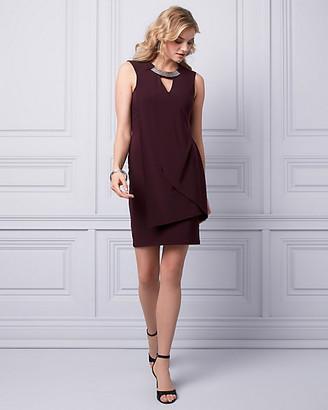 Le Château Knit Cutout Dress