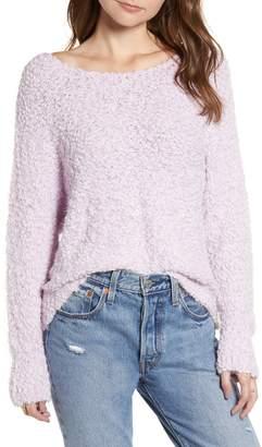 ALL IN FAVOR Eyelash Popcorn Sweater